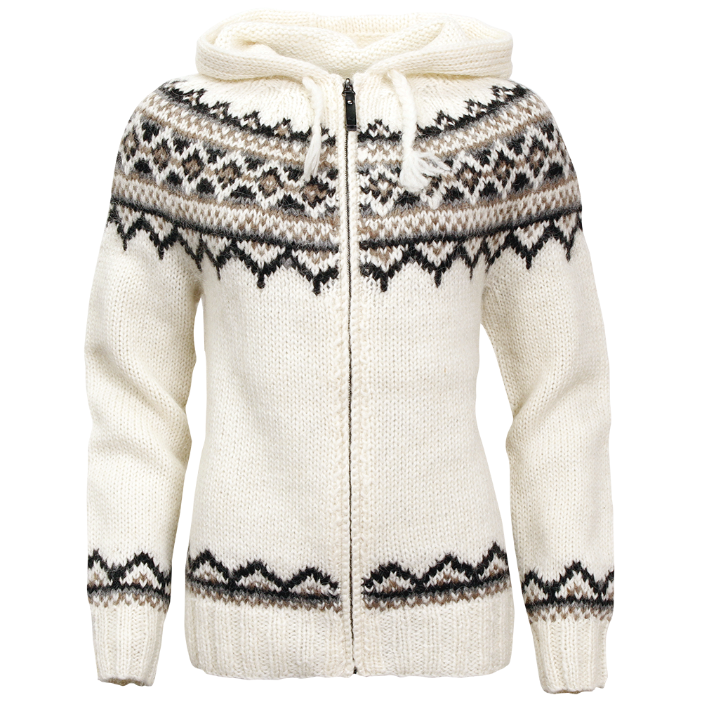 9f09316f517 Dámský svetr ICEwear Brynja bílý - Trekobchod