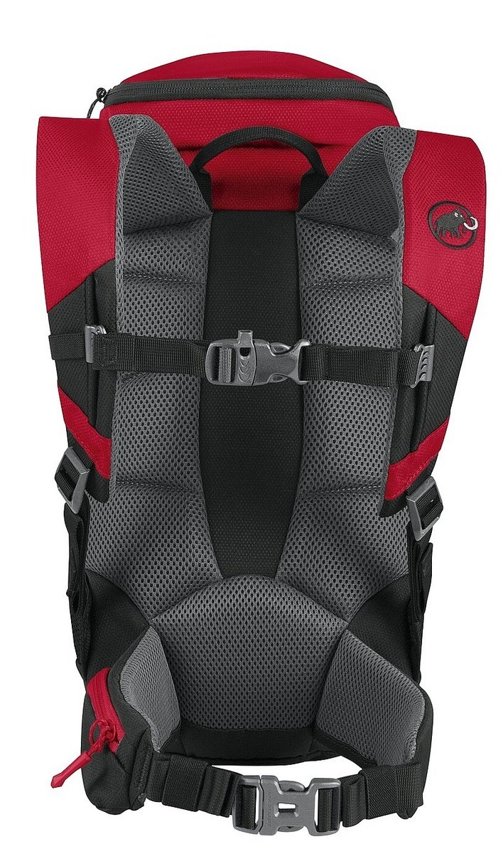 Mammut First Trion 18 - black/inferno