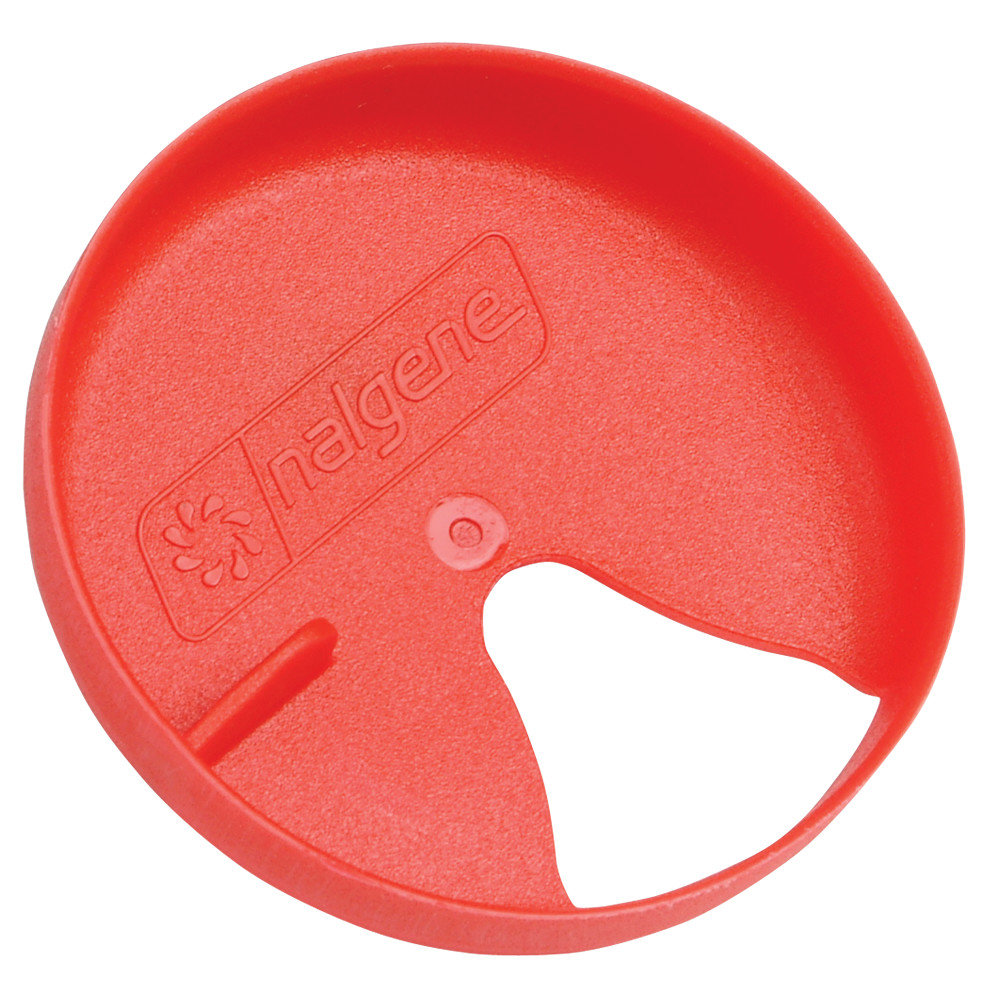 Nalgene Wide Mouth Easy Sipper 63 mm - red