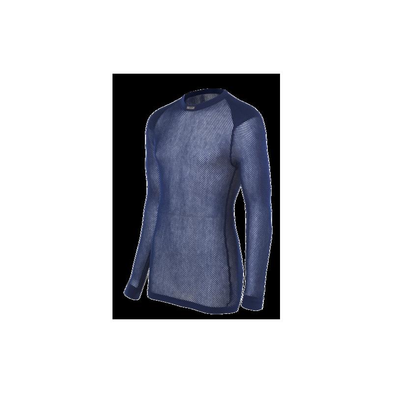 BRYNJE Super Thermo Shirt w inlay navy - Trekobchod 7c263ff070