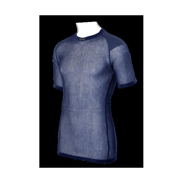 BRYNJE Super Thermo T-shirt w inlay navy - Trekobchod 8962b53693