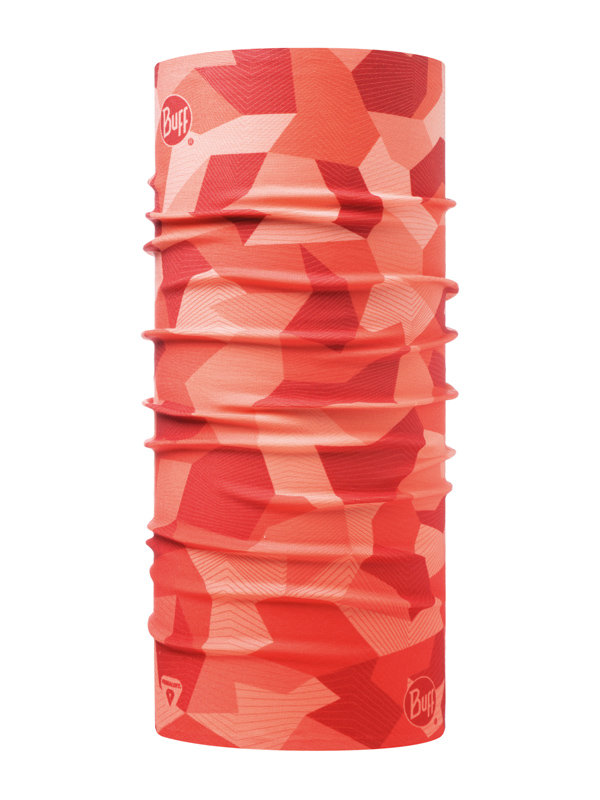 Buff Thermonet block camo flamingo pink