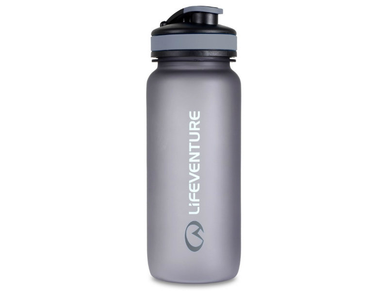 LifeVenture Tritan bottle 650 ml - šedá