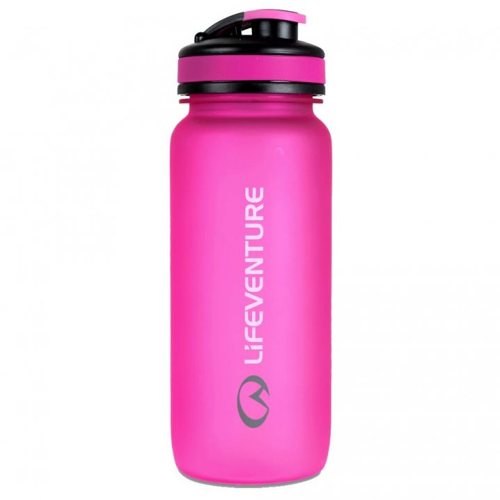 LifeVenture Tritan bottle 650 ml - růžová