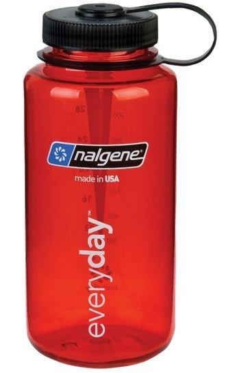Nalgene Wide Mouth 1000 ml - red