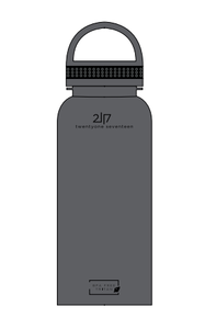 2117 Tritan bottle 1000 ml grey