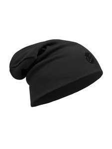 Buff Wool Hat Heavyweight Loose - solid black