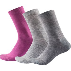 Devold Daily Light Sock 3PK 36 - 40 anemone mix