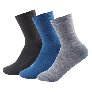 Devold Daily Light Sock 3PK 41 - 46 indigo mix
