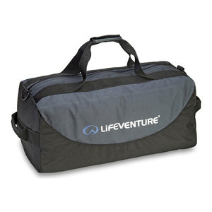 LifeVenture Expedition Duffle 100l black