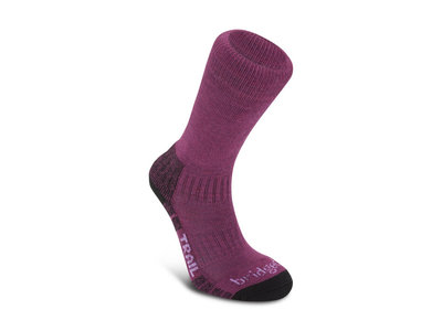 Bridgedale Hike Lightweight Merino Performance Boot Women berry