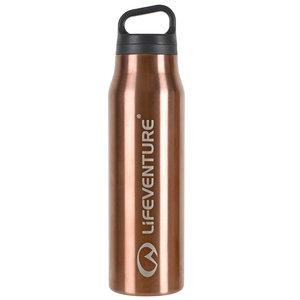 LifeVenture Hot and Cold Vacuum Flask 500 ml měděná
