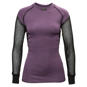 BRYNJE Lady Wool Thermo Shirt fialová