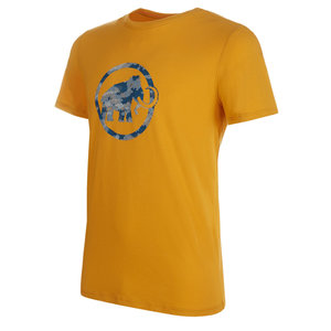 Mammut Logo T-Shirt Men triko golden
