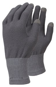 TrekMates Merino Touch Screen gloves graphite
