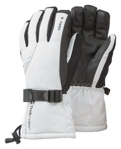 TrekMates Mogul DRY Women gloves white/black