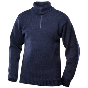 Devold Nansen Zip neck dark blue