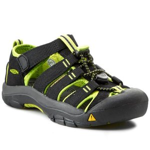 Keen Newport H2 Junior black/lime