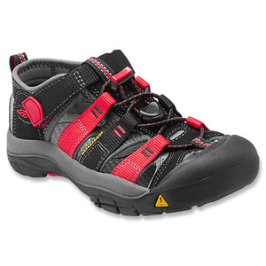Keen Newport H2 Kids black/racing red multi