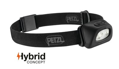 Petzl Tactikka + black