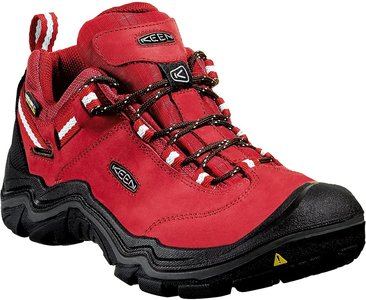 KEEN Wanderer WP low Women chilli pepper/gargoyle