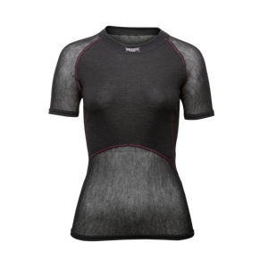 BRYNJE Lady Wool Thermo light T-Shirt černé