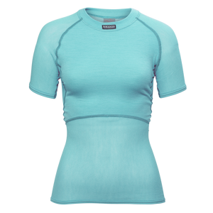 BRYNJE Lady Wool Thermo light T-Shirt aqua