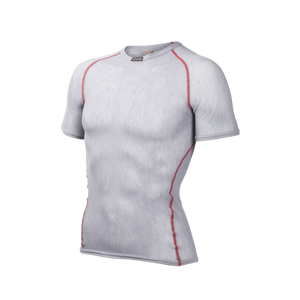BRYNJE Wool Thermo light T-shirt šedé