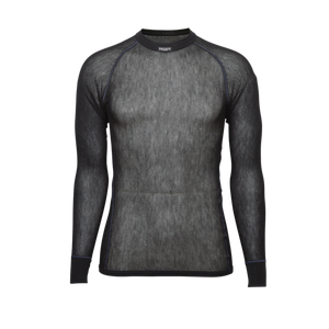 BRYNJE Wool Thermo light shirt černé